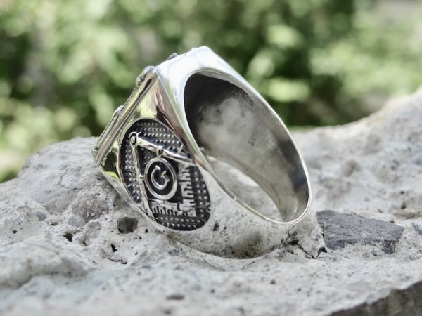 masonic skull ring