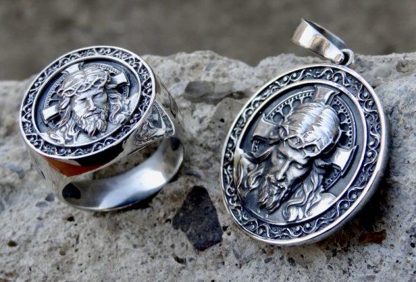 Jesus Ring Pendant