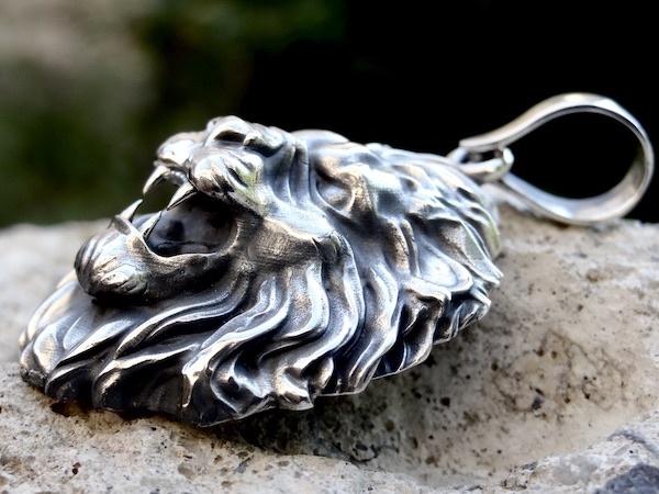 lion pendant